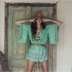 Women's Boho Chiffon Loose Shawl Kimono Cover